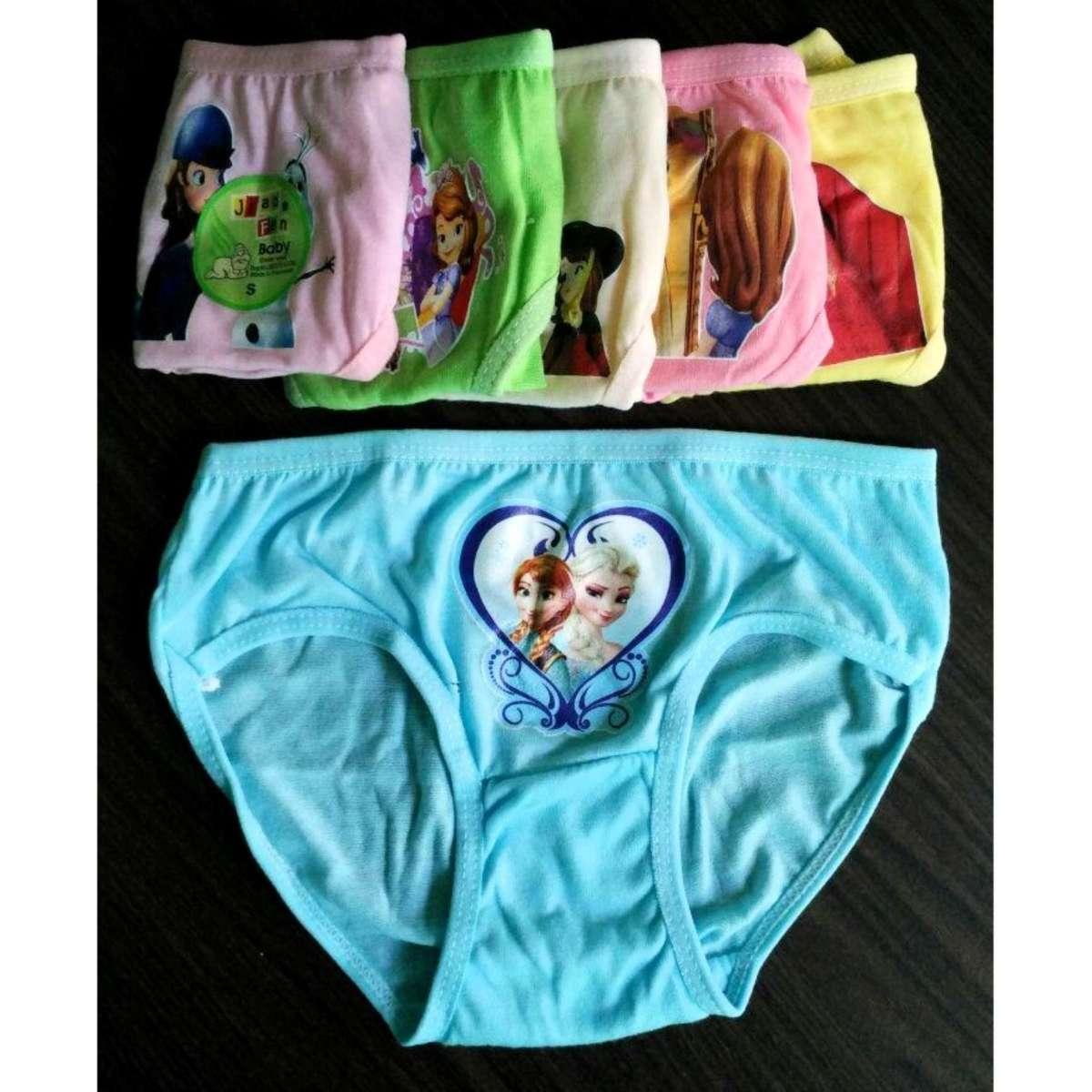 6 Pcs Celana Dalam / Sempak Anak Perempuan Motif Princes Gabriels Store By Gabriels Store.