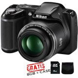 Promo Nikon Coolpix L330 Sdhc 8Gb Tas Anti Gores Lcd Hitam Nikon