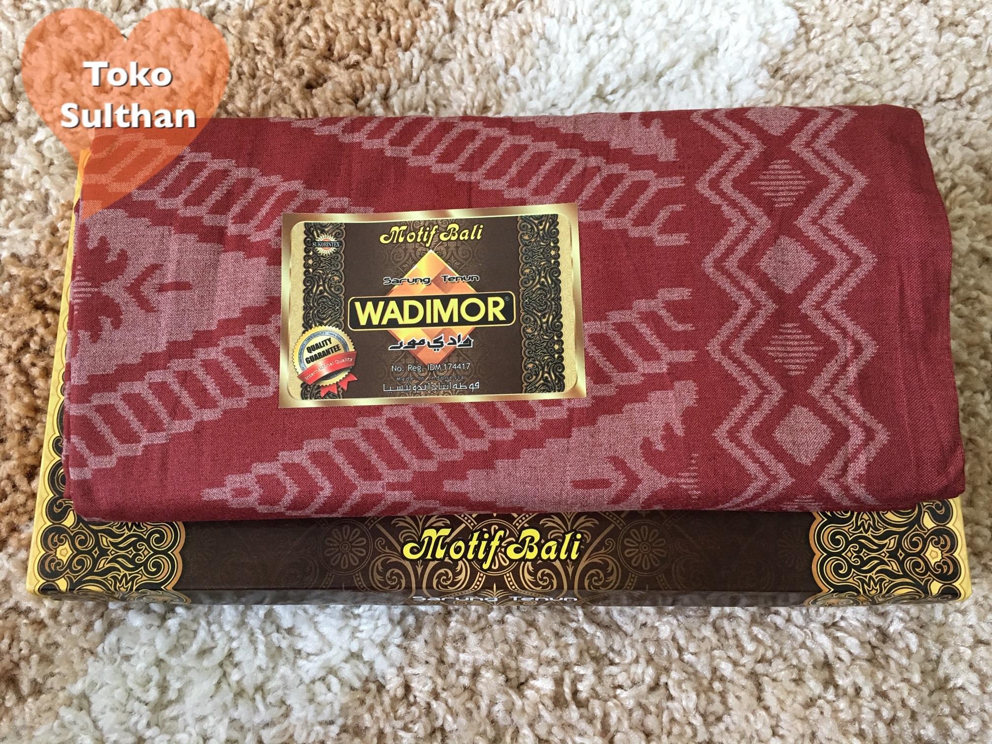 Wadimor Sarung Tenun Motif Bali - Warna Warni By Toko Sulthan.