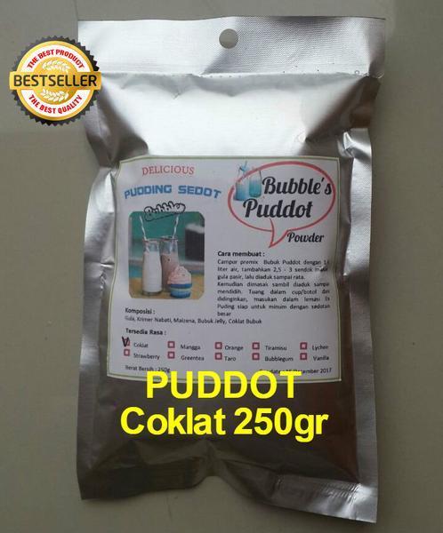 Bubbles Puddot Premix Chocolate 220gr Puding Sedot Bubuk Powder Puddot Frizco Frisco Moiaa Puyo Silkpud Orimoto Mart Coklat By Ori Moto Mart.