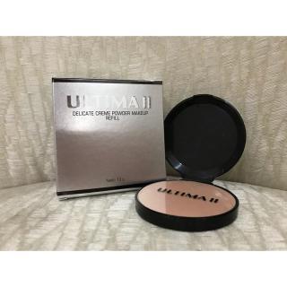 Ultima Ii Delicate Creme Powder Makeup REFILL 13 gr bedak padat basah thumbnail