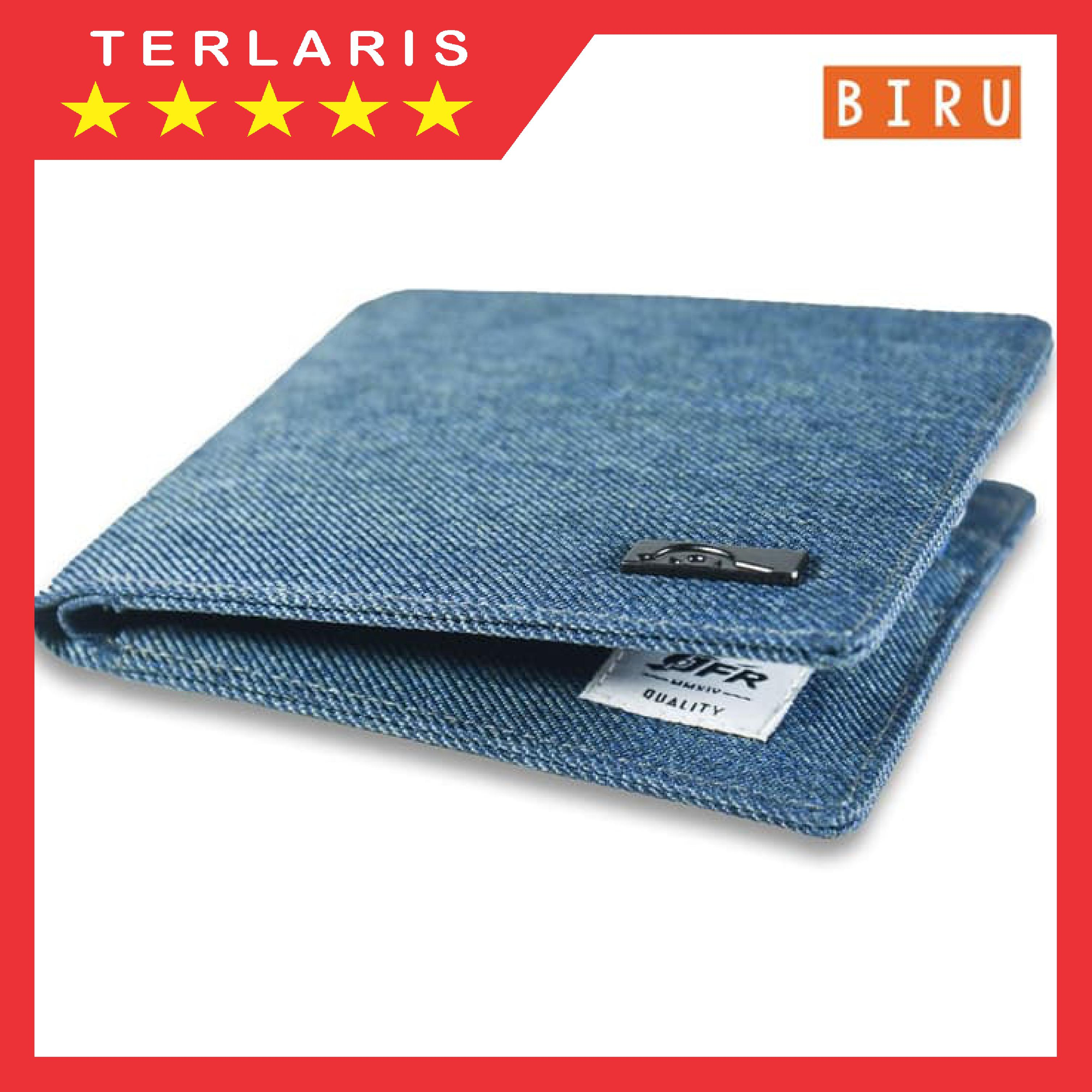 Fashion Dompet Pria Bahan Kulit Canvas Jp07 / Dompet Pria Kanvas / Dompet Pria Elegant / Dompet Pria Simpel By Red Trade.