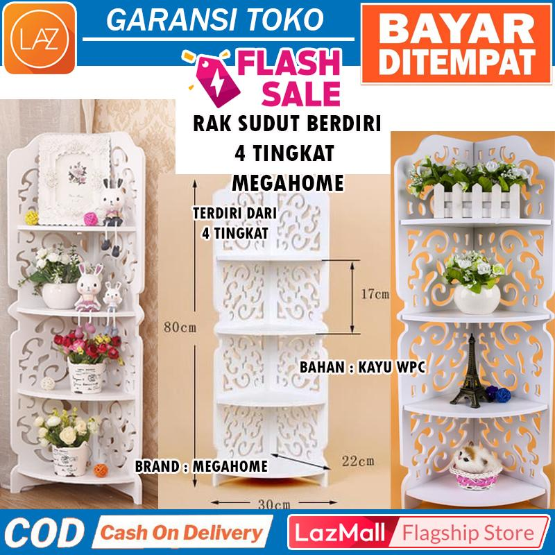 Jual Rak Buffet Mega Home Lazada Co Id