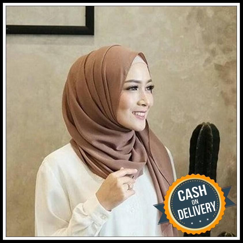 Jilbab Pashmina SABYAN DIAMOND Italiano Artamika Hijab Kerudung terbaru promo lebaran COD/Kerudung segi empat pasmina sabyan baby doll