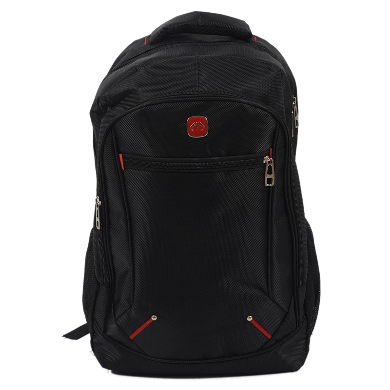 Coupon Ưu Đãi Casual Solid Color Material Oxford Man's Backpack Multi-functional Large-capacity Student Schoolbag Simple Bag