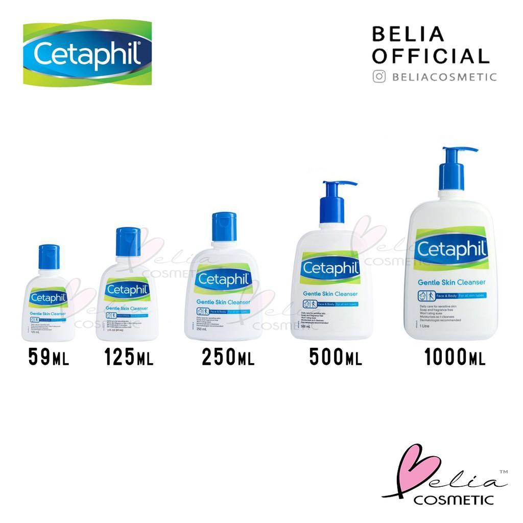 ❤ Belia ❤ Cetaphil 250 Ml 500 Ml Gentle Skin Cleanser 250Ml 500Ml