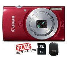 Review Toko Canon Ixus 145 16Mp 8X Zoom Merah Online