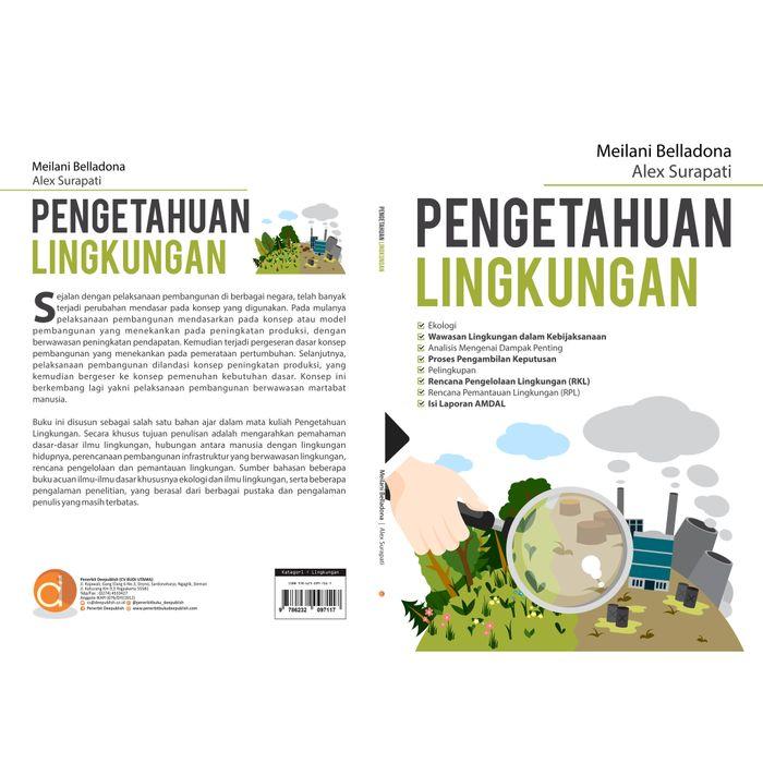 Buku Tentang Perubahan Lingkungan Lukisan
