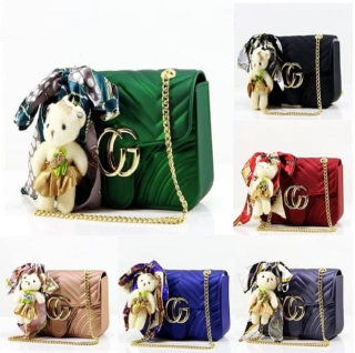 Tas Fashion Pesta Aksesoris Kosmetik Jelly Matte 18 Mini Nagita thumbnail