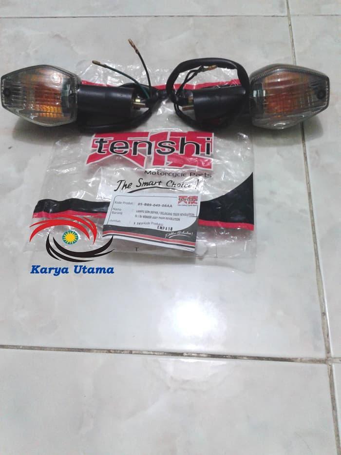 Lampu Riting Sein Sen Depan Belakang Tiger Revo Revolution Tenshi - ready stock