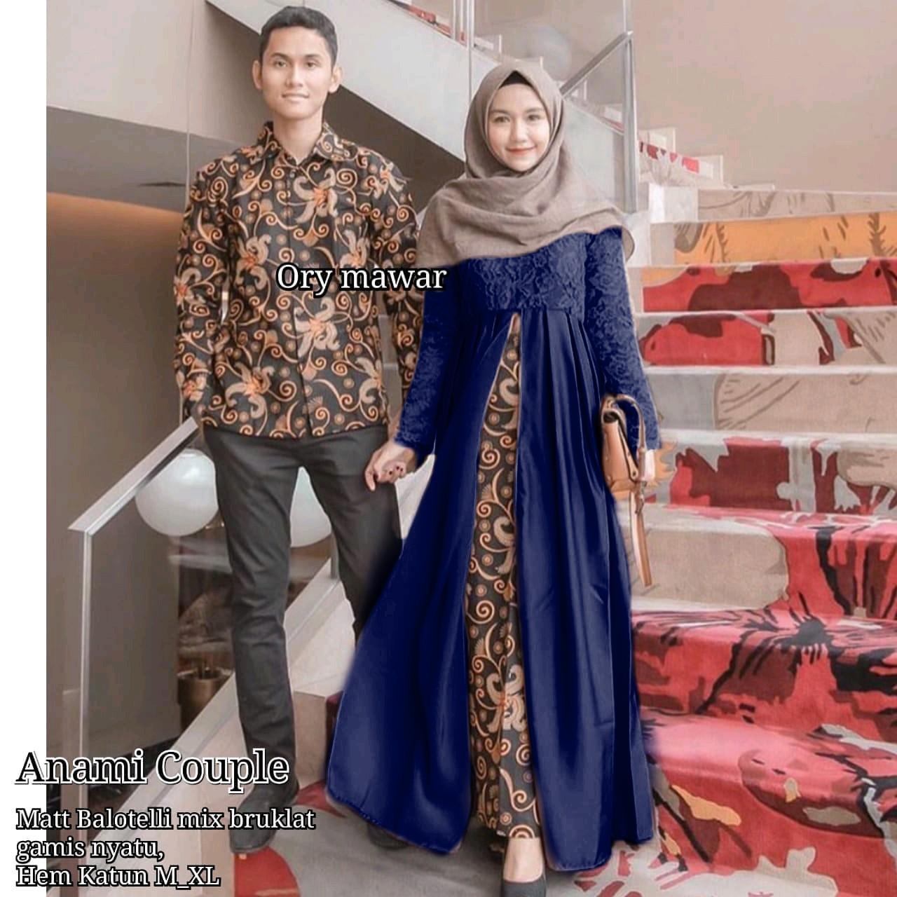 TERMURAH - Batik Couple / Couple Batik / Baju Muslim Wanita Terbaru 2018 / Batik Murah / Batik Sari