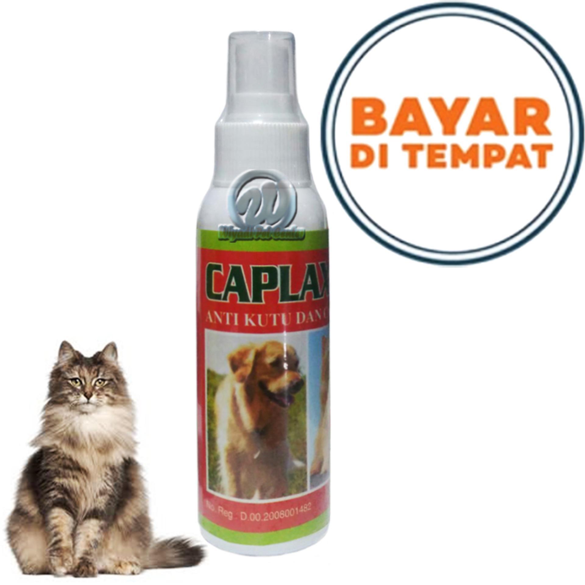 Caplak Sprey Obat Pembasmi Kutu Kucing Caplax Anjing By Lucky Petshop