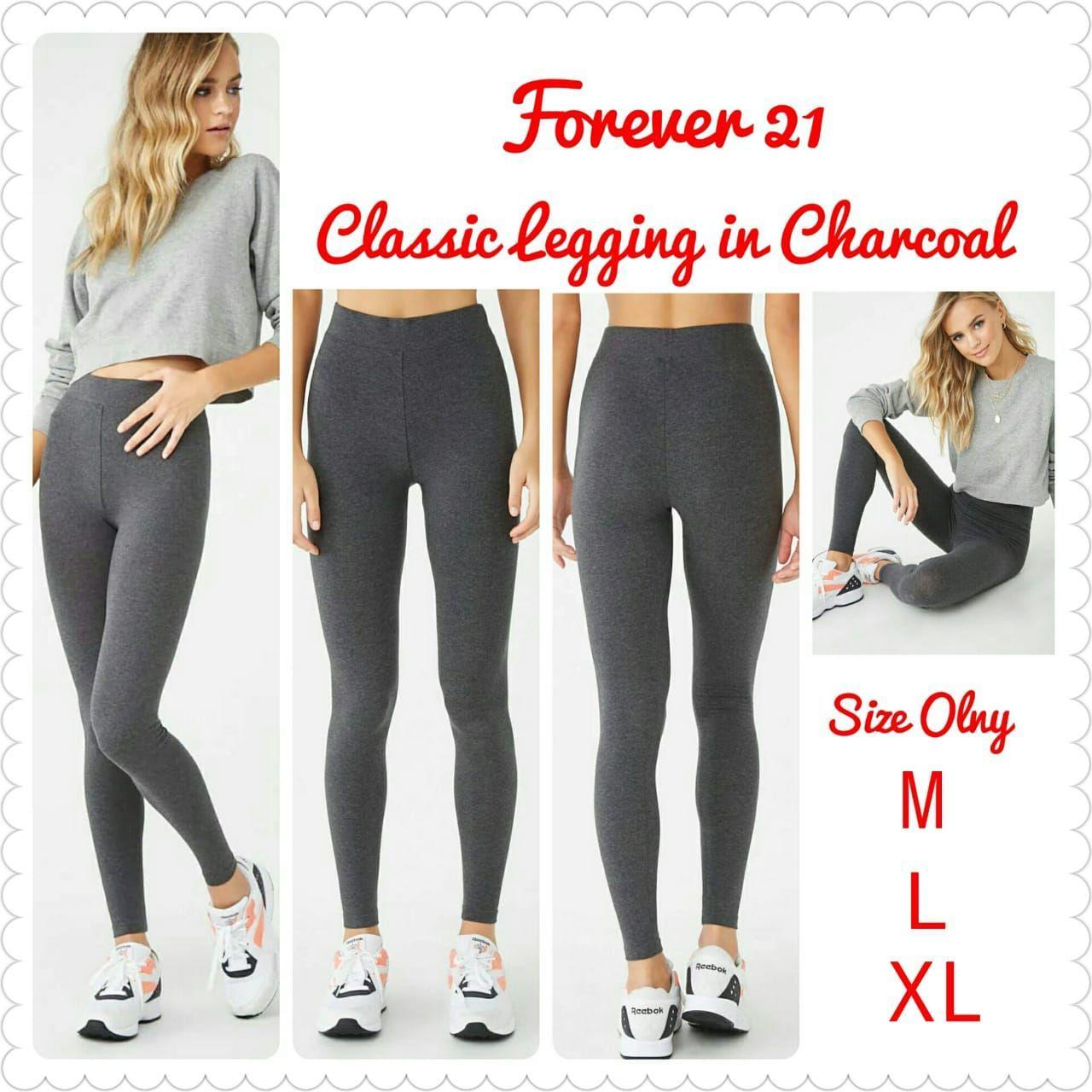 Jual Celana Legging Forever 21 Lazada Co Id
