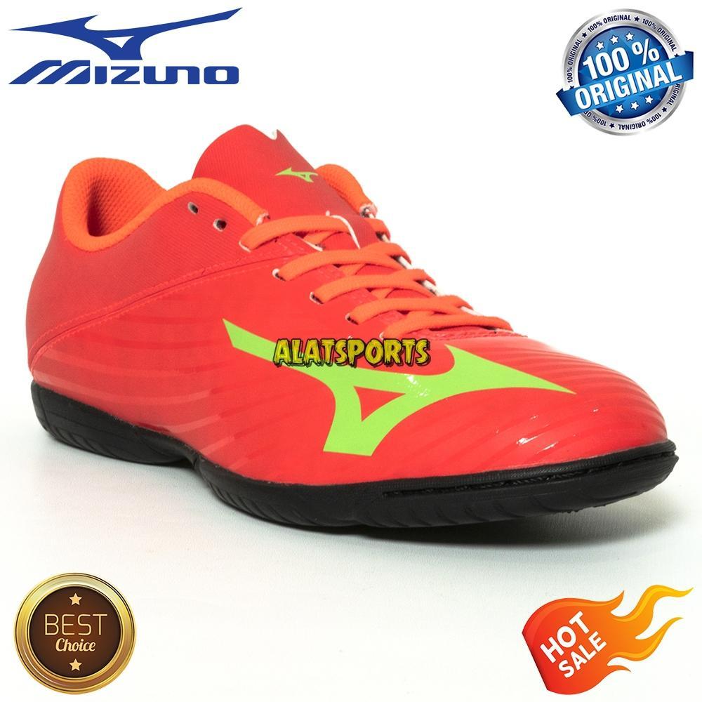 Sepatu Futsal Pria Mizuno Basara 103 IN P1GF186435 - Fiery - ORIGINAL 6ae4934f88