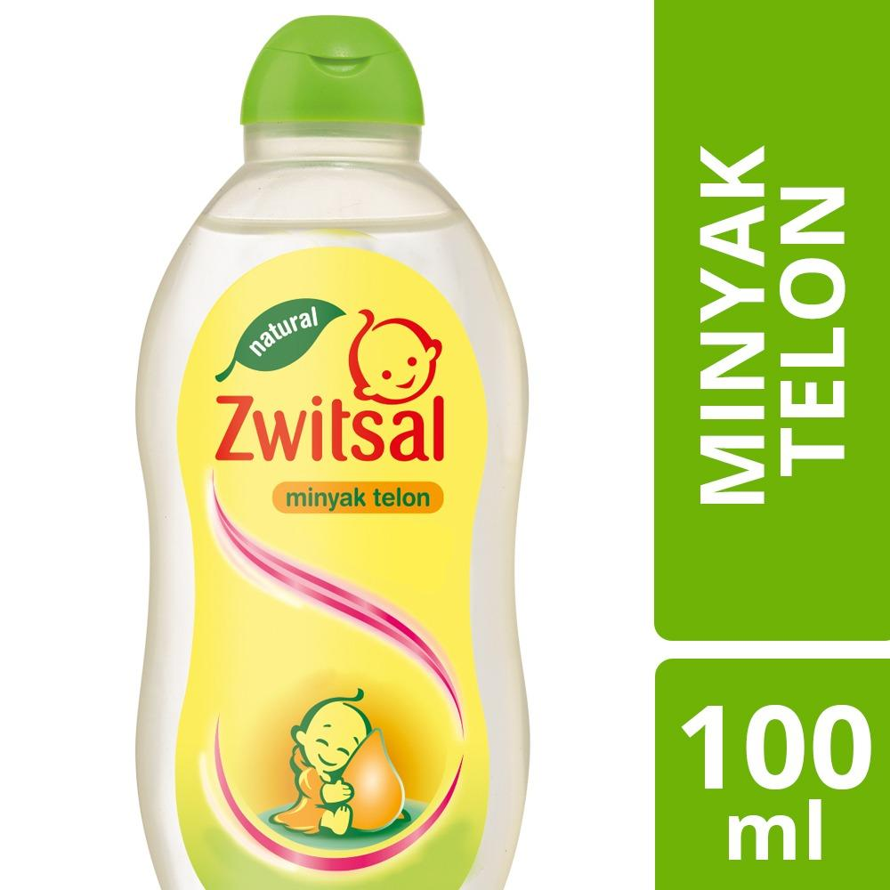 Zwitsal Baby Minyak Telon Natural 100ml By Lazada Retail Zwitsal.