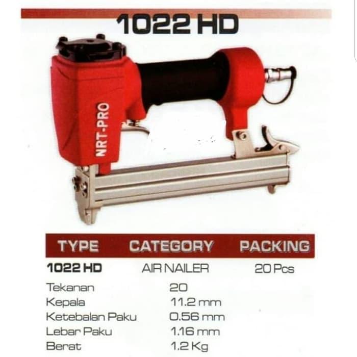 Air Nailer NRT Norita 1022 HD NRT PRO 1022HD Staples Tembak