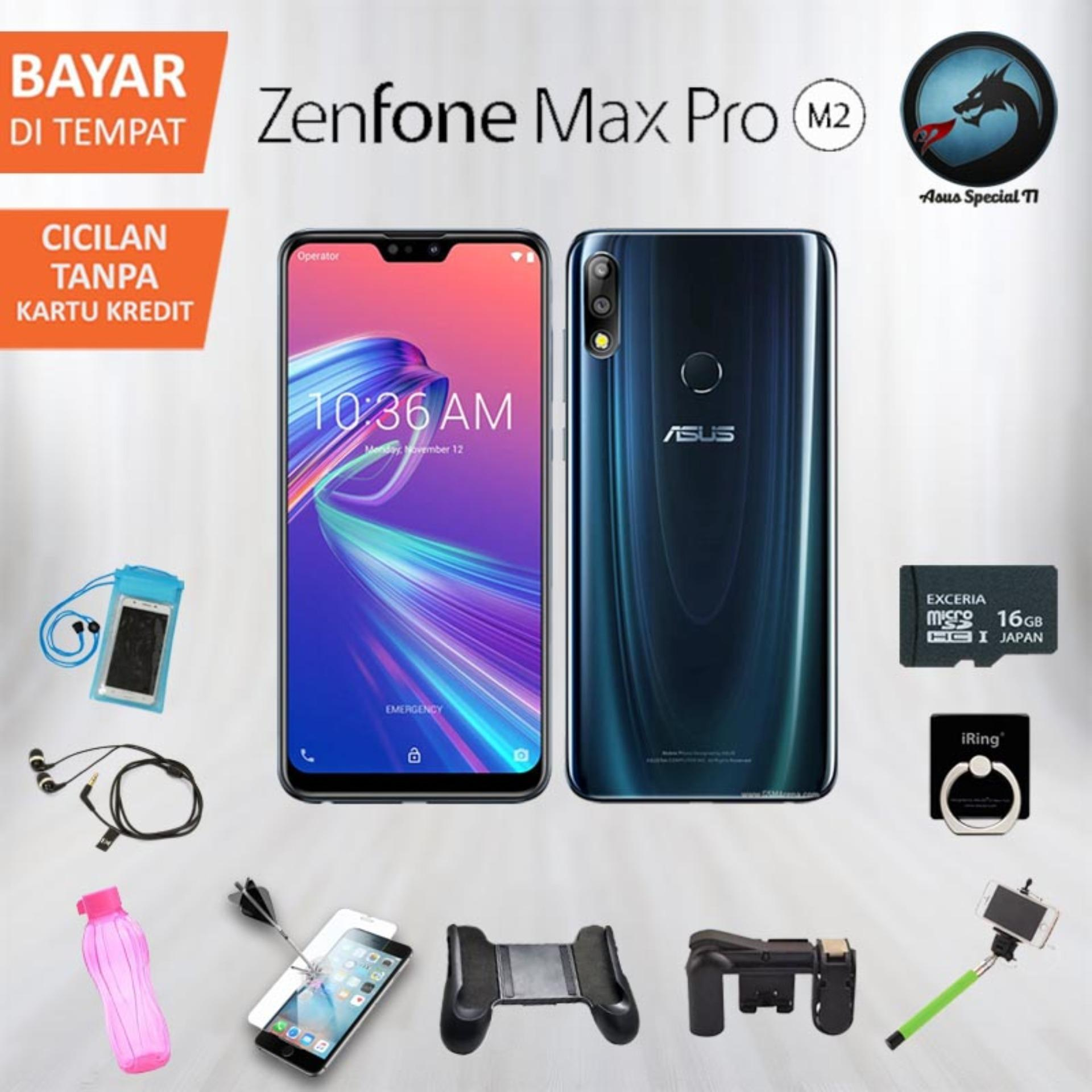 Asus ZenFone Max Pro M2 ZB631KL Smartphone [64GB/ 6GB] + Free Packet Gaming