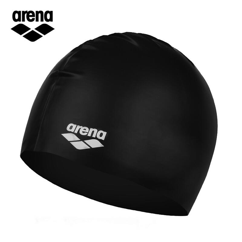 0fa396ad4d3 Arena Children's Swimming Cap Solid Color Silicone Swimming Cap Waterproof  Durable Teenager Swimming Hat