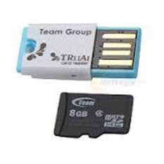 Toko Team Microsd Class 10 8Gb Usb Adapter Team Indonesia