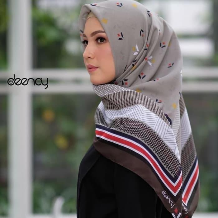 JILBAB PRINT VOAL SERI TULIP . HIJAB CORAK BANDUNG / alat shalat / mukena / sajadah / sarung / pakaian muslim / perlengkapan shalat / hijab / hijab terbaru 0a36