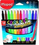 Jual Maped Felt Pen Set 12 Import