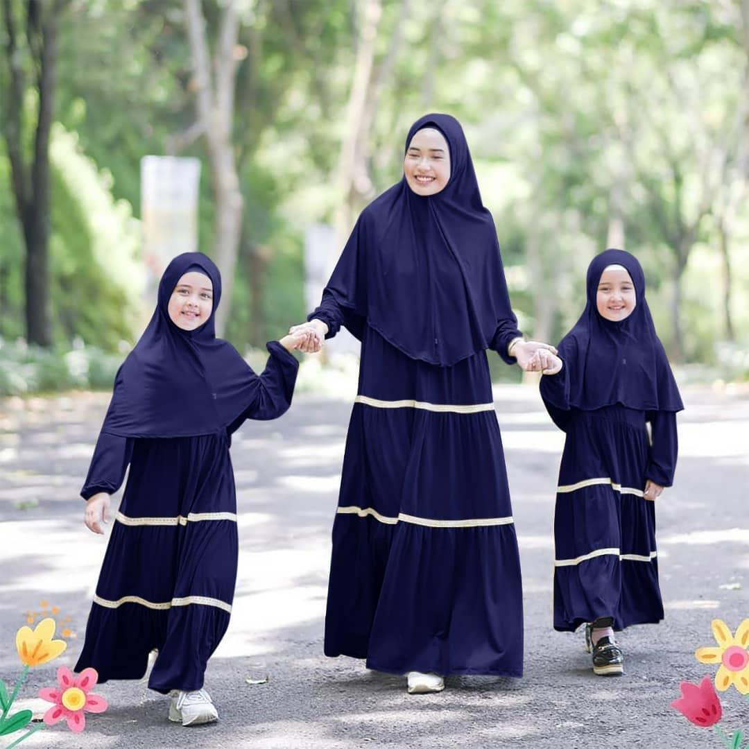Demenstore - Rianti Baju Gamis Couple Ibu Dan Anak (FREE KERUDUNG) / Baju  Muslim Couple / Baju Gamis Terbaru 12 / Baju Couple Ibu Dan Anak  Perempuan