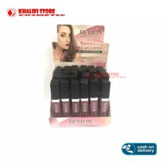 Lipcream Lipstik Lip Cream Revlon Liquid Matte - Tahan Hingga 24 Jam - 1 PCS Lip Gloss Lipstik Cair thumbnail