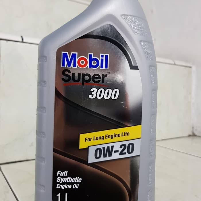 Oli Mobil Super 3000 SAE 0W-20 SN GF-5 Full Synthetic Made In Korea 1L