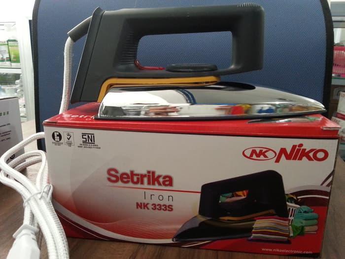 SETERIKA / SETRIKA NIKO Murah Bagus Berkualitas NK-333S