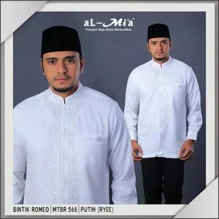 Baju Muslim AL-MIA MT Manset