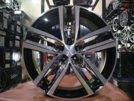 Velg Mobil Racing Canopus HSR Ring 20 Black Chrome Insert Hrv Crv Innova Xpander Murano Outlander