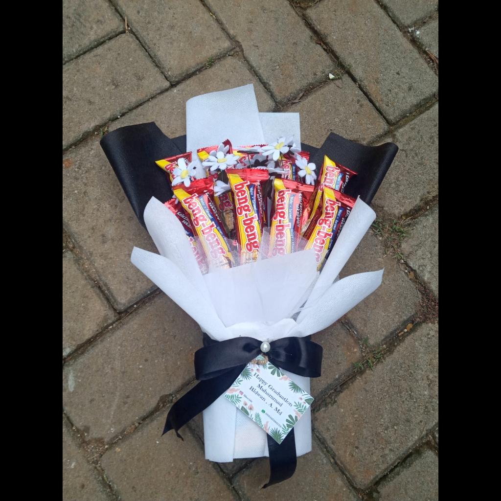 Free Paperbag Fillea Buket Wisuda Murah Buket Snack Wisuda Hadiah Wisuda Murah Buket Makanan Beng Beng Bunga Flanel Chamomile Buket Bumga Flanel Lazada Indonesia