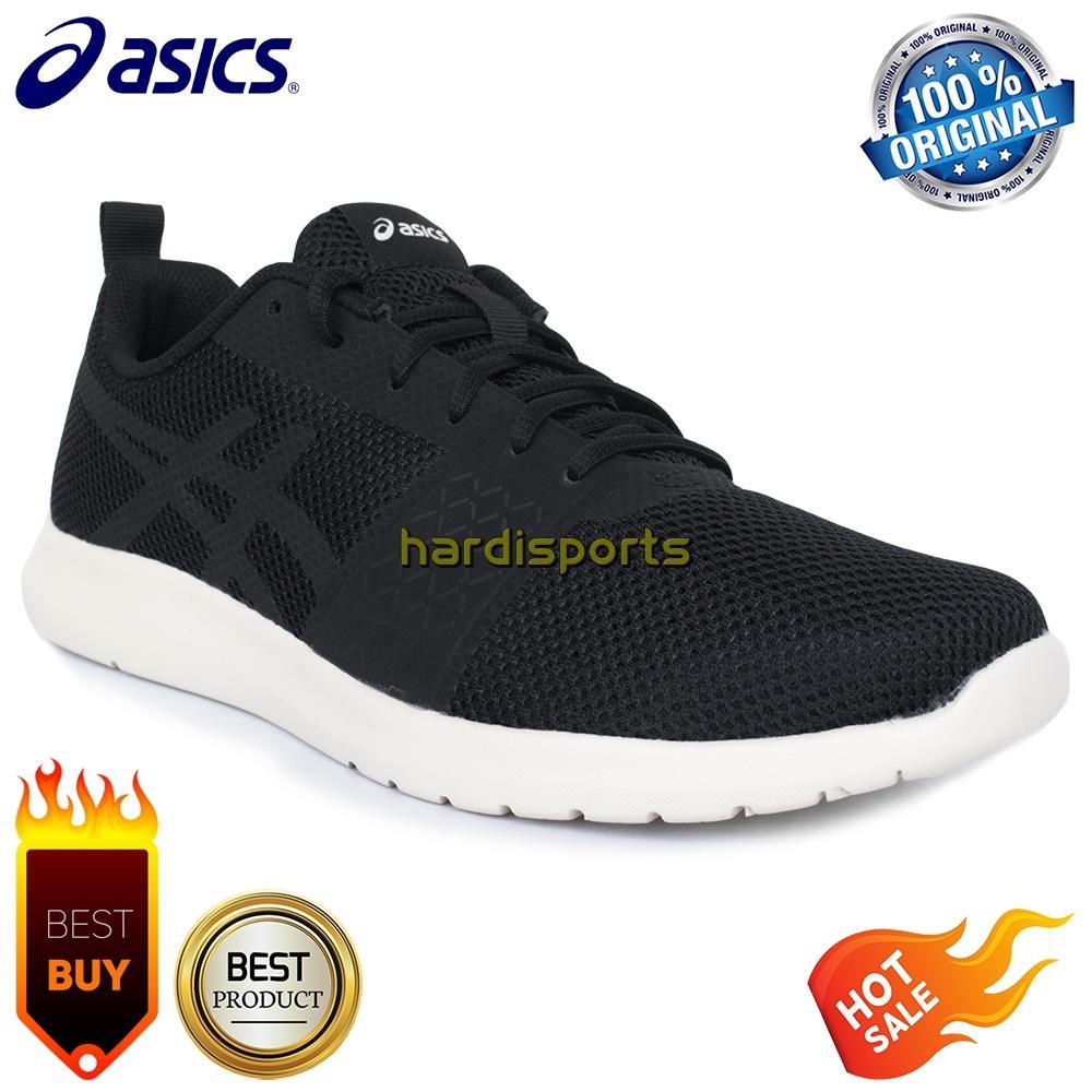 Sepatu Running Pria Asics Kanmei MX T849N-9090 - Black d150060743