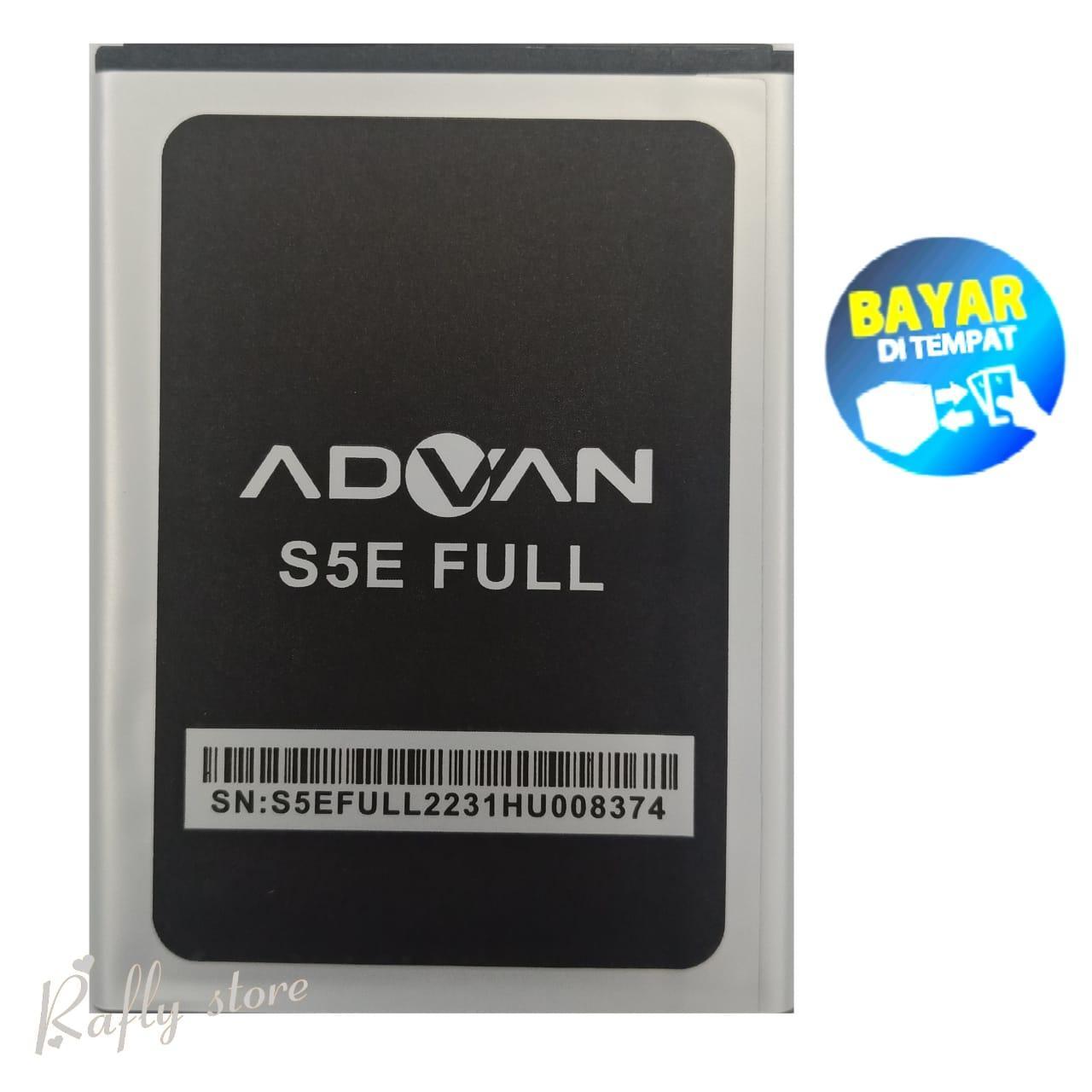 R/S1; Baterai ADVAN S5E FULL VIEW Batere Android Batrai Handphone Battery Advan Batre