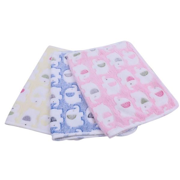 3 PCS 43 X 35.4Inch Blankets Super Soft Cute Pattern Pet Blanket Coral Fleece Throw for Dog Puppy Cat