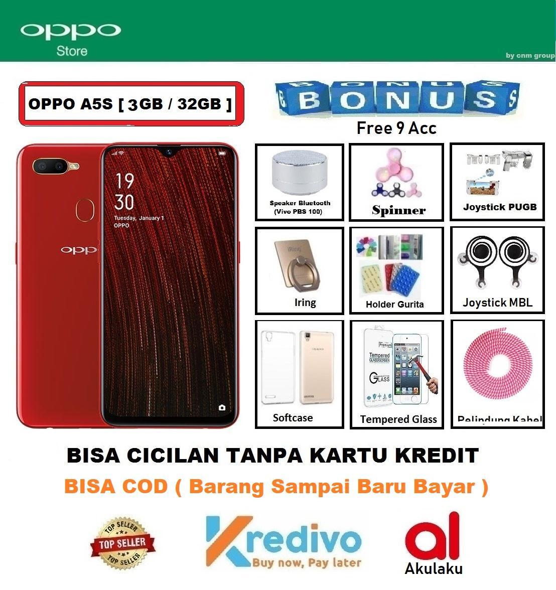 OPPO A5S Ram 3GB/32GB - Bisa Cicilan Tanpa Kartu Kredit + 9 Acc ( Original, Garansi Resmi 1 Tahun, Bisa COD )