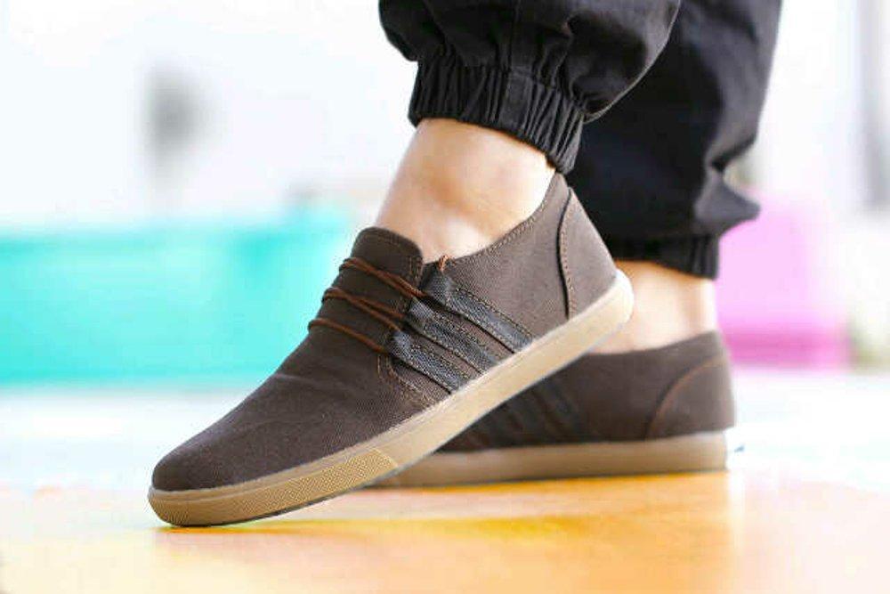 PROMO Sepatu Casual Pria Slip On Loafers ADIDAS ROYALE COKLAT Terlaris dan Termurah (Sepatu Santai, Sepatu Kerja, Sepatu Formal, Sepatu Main, sepatu sekolah, sepatu ADIDAS, Sepatu NIKE. sepatu VANS, sepatu Sneakers pria)