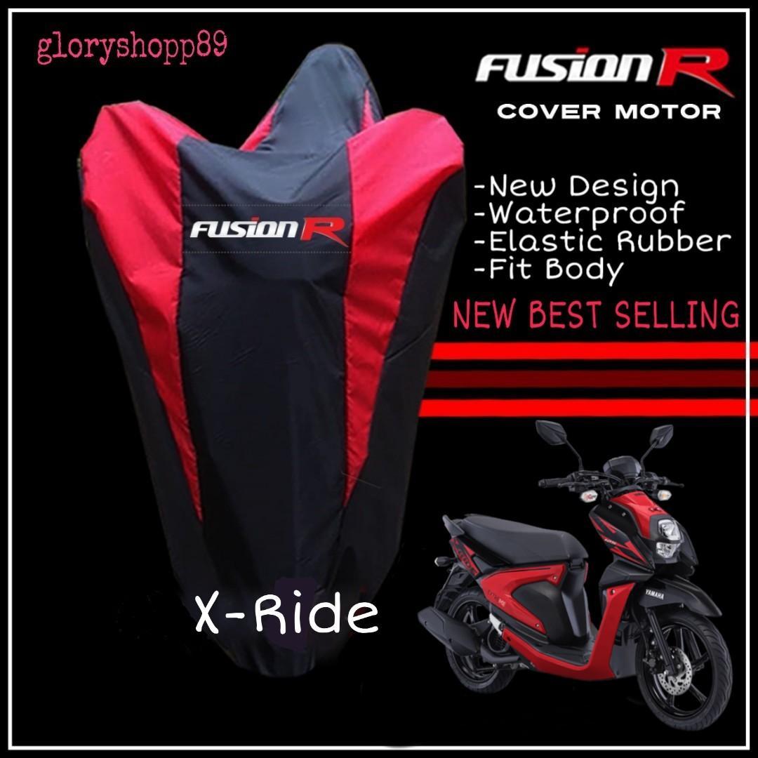 Cover Motor Yamaha X - Ride Sarung Motor X - Ride Merk FUSION R