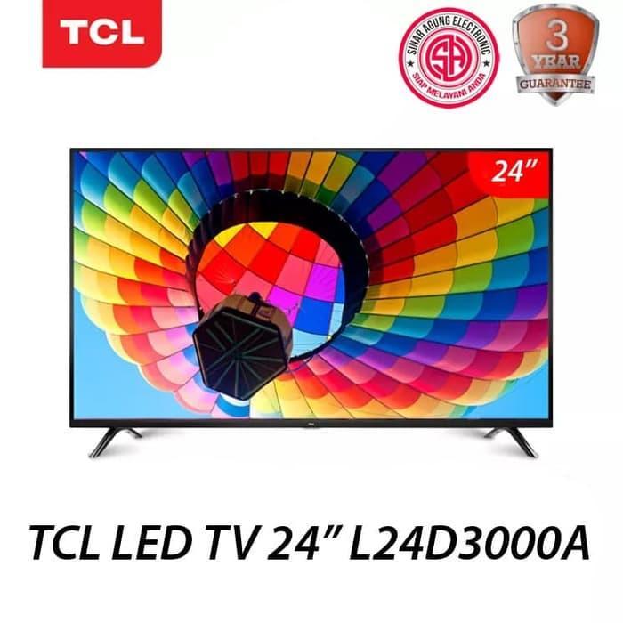 TV LED TCL 24D3000A 24 INCH GARANSI RESMI (100% ORI)