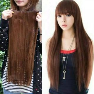 Hair clip 3 layer lurus 70cm dan 55cm smoothing thumbnail