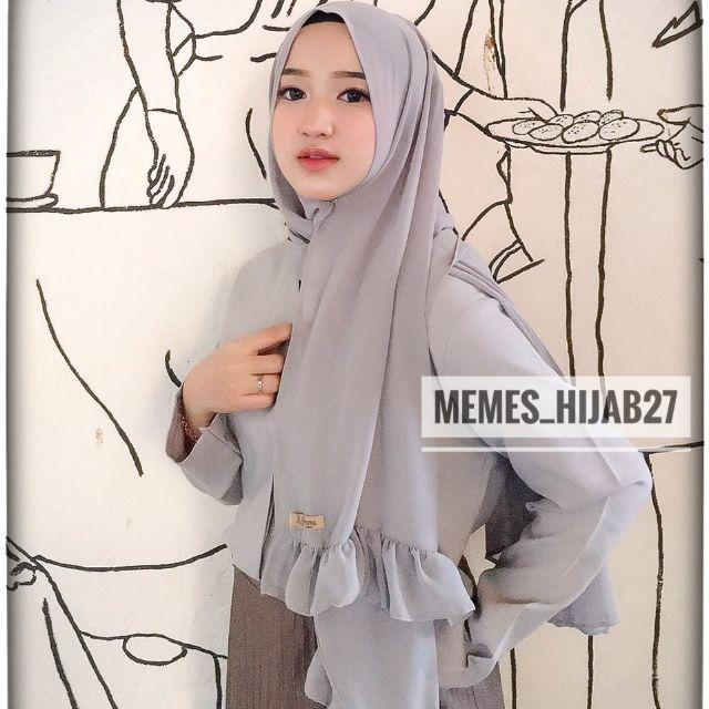 Free Tuspin Hijab Pashmina Rempel Lyra Ceruty Pasmina Sabyan Rempel Jilbab Lazada Indonesia
