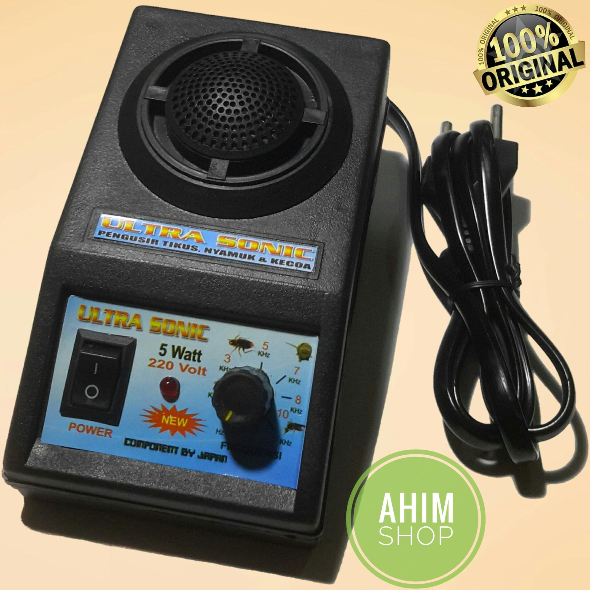 Ultrasonic Pengusir Tikus Kecoa Nyamuk Lalat Serangga Ultra Sonic Pest Repellent 10 Khz 5 Watt Ahim Shop By Ahim Shop.