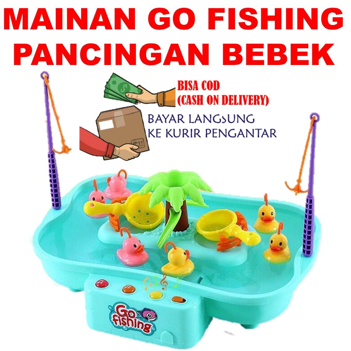 Go Fishing Game Board Play Set/ Mainan Pancingan Bebek By Mainan Pasir Ajaib.
