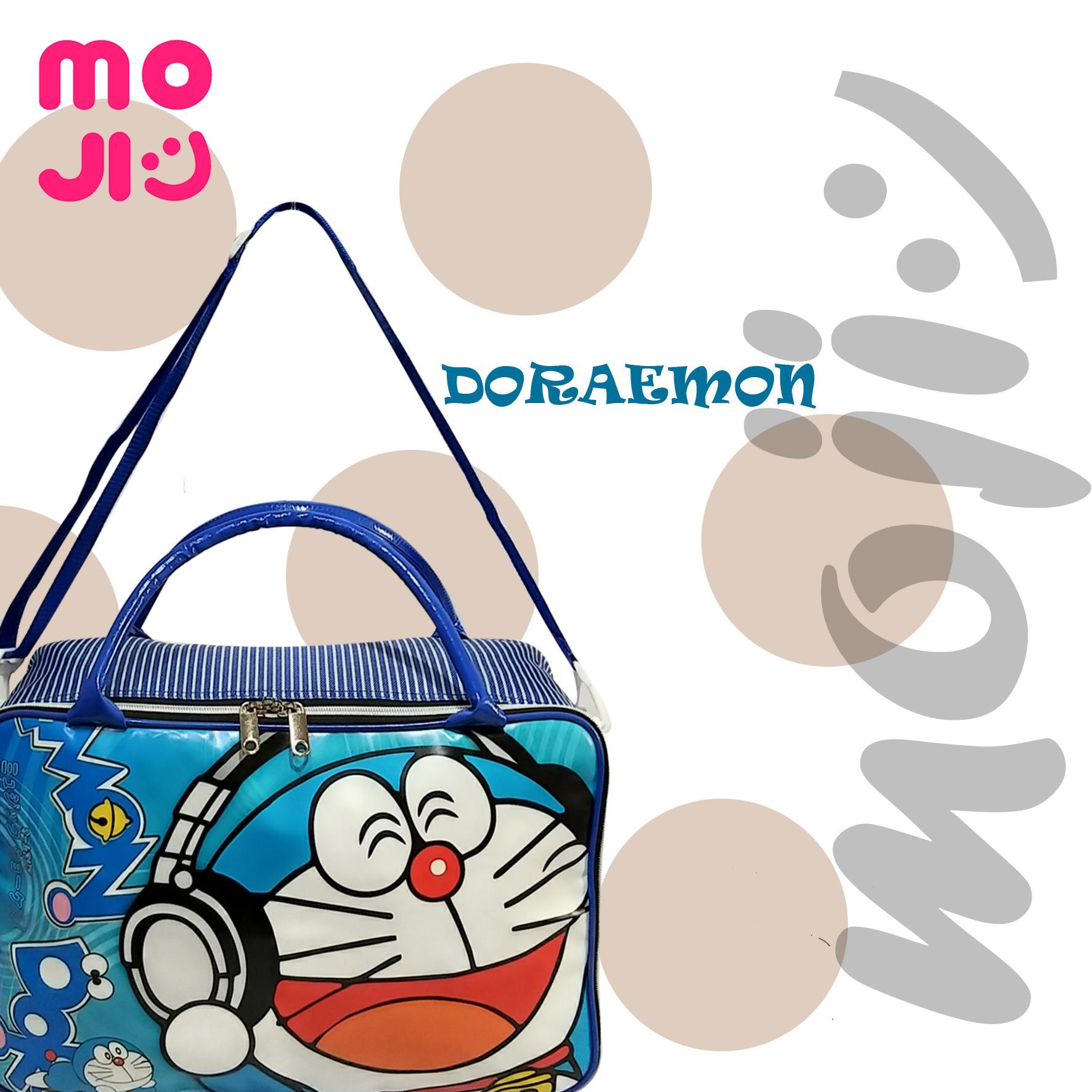 Moji Travel Bag / Koper Besar Anak Doraemon
