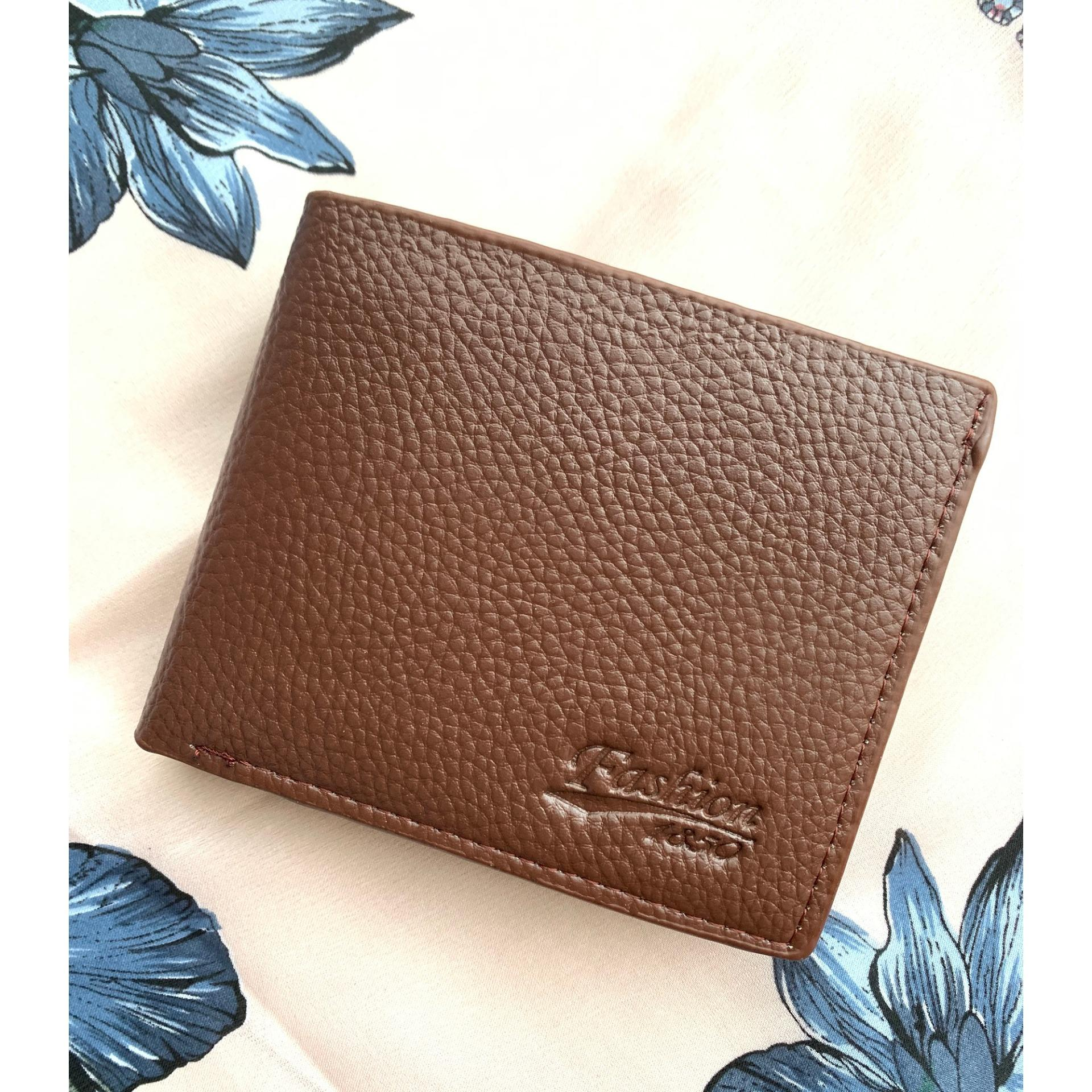 Avery - Fashion Dompet Pria Compact Slim Import Quality With Zipper By Sasaa.
