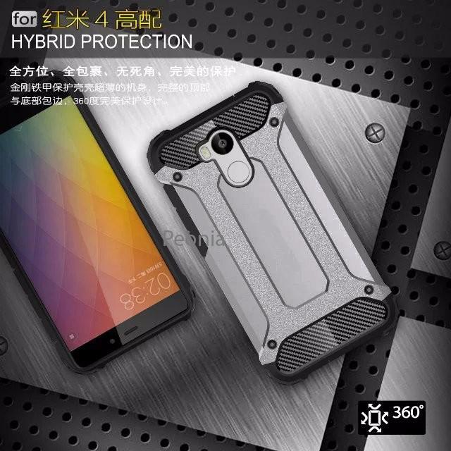 Peonia Hard Case Xiaomi Redmi 4S, Redmi 4 Prime / Pro (sama ukuran)
