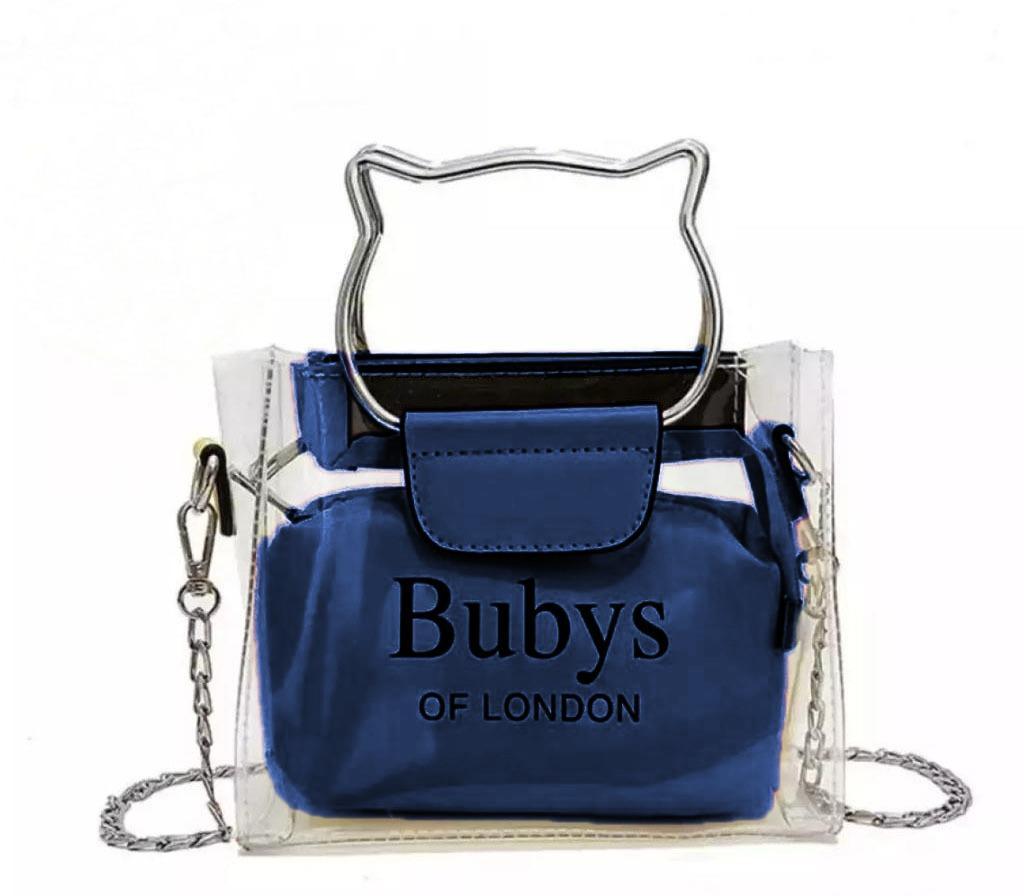 DoubleC Fashion Tas Selempang Bahu Wanita/ Waist Bag Bubys Wanita- Jelly Trasparan / Tas Wanita