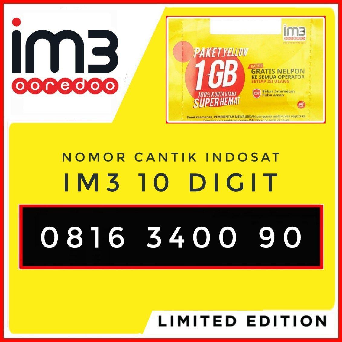 Nomor Cantik IM3 10 Digit Kartu Perdana Nomer Cantik Indosat 10 Digit