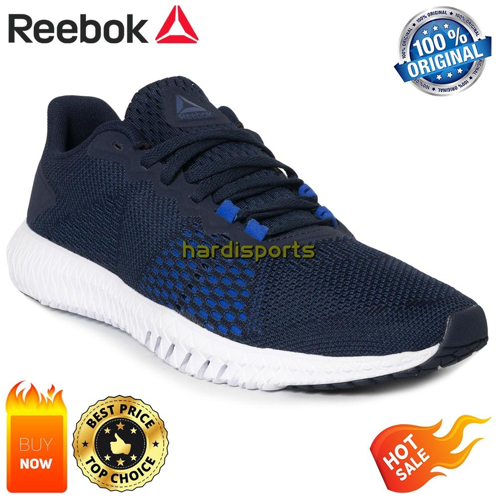48a2d2bff4ab7 Sepatu Running Pria Reebok Flexagon CN2595 - Navy