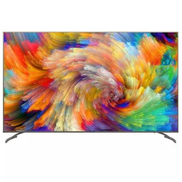 COOCAA 55 inch SMART ANDROID DIGITAL LED 4K UHD TV - 55G2 (KHUSUS JABODETABEK)